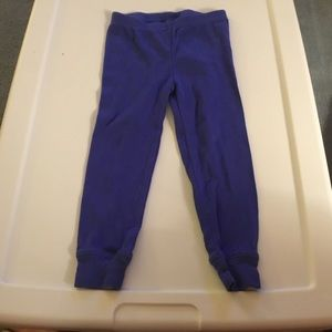Carter's Boys Royal Blue Pajama Pants. Size 2T